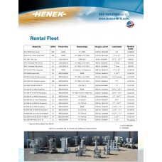 Oil Filtration Equipment Rentals